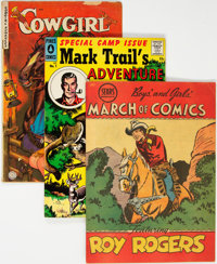 Western Group of 9 (Various, 1950-58).... (Total: 9 Comic Books)