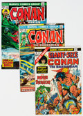 Bronze Age (1970-1979):Adventure, Conan the Barbarian Related Titles Short Box Group (Marvel, 1970s-80s) Condition: Average FN-....