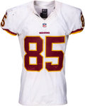 Football Collectibles:Uniforms, 2015 Vernon Davis Game Worn & Unwashed Washington Redskins Jersey - Used 10/23 vs. Lions....