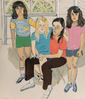 Prints:Contemporary, Alice Neel (1900-1984). The Family, 1982. Lithograph in colors on Arches paper. 31-1/2 x 27 inches (80 x 68.6 cm) (sheet...