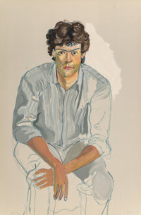 Alice Neel (1900-1984) The Youth, 1982 Lithograph in colors on Arches paper 38 x 25 inches (96.5