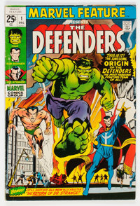 Marvel Feature #1 The Defenders (Marvel, 1971) Condition: FN