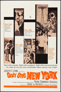 """Movie Posters:Documentary, Only One New York & Other Lot (Embassy, 1964). Folded, Fine/Very Fine. One Sheets (2) (27"""" X 41""""). Documentary.. ... (Total: 2 Items)"""