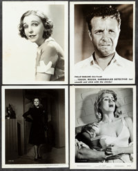 """Murder, My Sweet & Other Lot (RKO, 1944). Overall: Fine/Very Fine. Photos (Approx. 1,000) (Approx. 8"""" X 10""""..."""