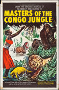 "Movie Posters:Documentary, Masters of the Congo Jungle & Other Lot (20th Century Fox, 1960). Folded, Fine/Very Fine. One Sheets (2) (27"" X 41"") Style B... (Total: 2 Items)"