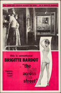"""Movie Posters:Foreign, The Light Across the Street (UMPO, 1957). Folded, Very Fine. One Sheet (27"""" X 41""""). Foreign.. ..."""