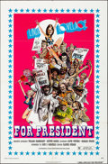 """Movie Posters:Adult, Linda Lovelace for President (General Film, 1976). Folded, Very Fine-. One Sheet (27"""" X 41""""). William Stout Artwork. Adult...."""