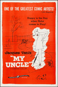 """Movie Posters:Foreign, Mon Oncle (Continental, 1958). Folded, Very Fine. One Sheet (27"""" X 41""""). Foreign. U.S. Title: My Uncle.. ..."""