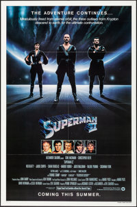 "Superman II & Other Lot (Warner Brothers, 1981). Folded, Very Fine/Near Mint. One Sheets (2) (27"" X 41"") &..."