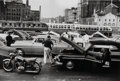 Photographs:20th Century, George Zimbel (American, b. 1929). A Group of Four Photographs of New York City Traffic (4 works), circa 1953. Gelatin s... (Total: 4 )