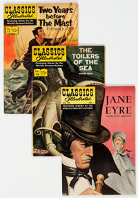 Classics Illustrated Group of 45 (Gilberton, 1950s-60s) Condition: Average VF/NM.... (Total: 45 Comic Books)