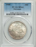 1900 50C MS64 PCGS. PCGS Population: (55/41). NGC Census: (53/22). MS64. Mintage 4,762,912