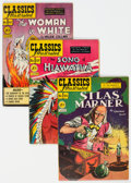 Golden Age (1938-1955):Classics Illustrated, Classics Illustrated First Editions Group of 6 (Gilberton, 1949-50) Condition: Average FN.... (Total: 6 Comic Books)