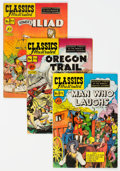 Golden Age (1938-1955):Classics Illustrated, Classics Illustrated First Editions - Group of 7 (Gilberton, 1950-51) Condition: Average FN.... (Total: 7 Comic Books)