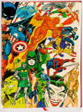 Books:Reference, The Steranko History of Comics #1 and 2 Bound Volume (Supergraphics, 1970-71)....