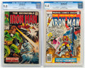 Silver Age (1956-1969):Superhero, Iron Man #4 and 99 CGC-Graded Group (Marvel, 1968-77).... (Total: 2 )