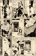 Original Comic Art:Panel Pages, Dave Gibbons Watchmen #8 Story Page 19 Rorschach and Nite Owl Original Art (DC, 1987)....