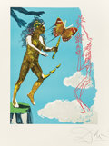 Prints & Multiples:Contemporary, Salvador Dalí (1904-1989). Release of the psychic spirit, from Magic butterfly & the dream, 1978. Lithographs in col...