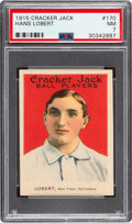 Baseball Cards:Singles (Pre-1930), 1915 Cracker Jack Hans Lobert #170 PSA NM 7....