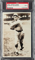Baseball Cards:Singles (1930-1939), 1933 Worch Cigar Charles Gehringer PSA EX 5 - Pop One, None Higher! ...