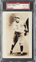 Baseball Cards:Singles (1930-1939), 1933 Worch Cigar Dazzy Vance PSA VG-EX 4 - The Only Graded Example! ...