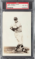 Baseball Cards:Singles (1930-1939), 1933 Worch Cigar Lefty O'Doul PSA VG-EX 4 - Pop two, One Higher....