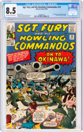 Silver Age (1956-1969):War, Sgt. Fury and His Howling Commandos #10 (Marvel, 1964) CGC VF+ 8.5 Off-white to white pages....
