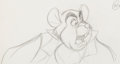 Animation Art:Production Drawing, The Rescuers Down Under Chairmouse Animation Drawings Group of 3 (Walt Disney, 1990).... (Total: 3 Original Art)