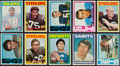 Football Cards:Sets, 1972 Topps Football Low and Middle Series Near Set (262/263). ...