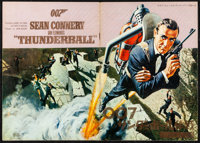 """Thunderball (United Artists, 1965). Fine/Very Fine. Japanese Program (24 Pages, 8.25"""" X 11.75""""). Frank McCarth..."""