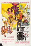 "Movie Posters:Academy Award Winners, West Side Story & Other Lot (United Artists, 1961). Folded, Fine+. Argentinean One Sheets (2) (29"" X 43.25"" & 29"" X 43.5"") B... (Total: 3 Items)"