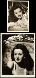 "Movie Posters:Miscellaneous, Rosalind Russell (1942). Very Fine-. Autographed Portrait Photo (8"" X 10"") & Portrait Photo (5"" X 7""). Miscellaneous.. ... (Total: 2 Items)"