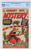 Silver Age (1956-1969):Superhero, Journey Into Mystery #83 (Marvel, 1962) CBCS VG 4.0 Off-white pages....