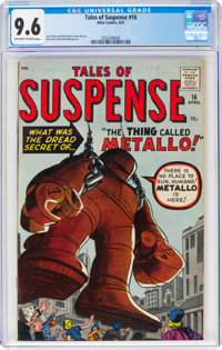 Tales of Suspense #16 (Marvel, 1961) CGC NM+ 9.6 Off-white to white pages