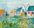 Paintings:Contemporary   (1950 to present), Yolande Ardissone (French, b. 1927). Spring in Brittany. Oil on canvas. 16-1/2 x 19-3/4 inches (41.9 x 50.2 cm). Signed ...