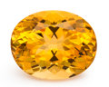 Gems:Faceted, Gemstone: Citrine - 20.44 Cts.. Brazil. 20.04 x 16.11 x 11.80 mm. ...