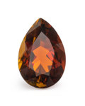 Gems:Faceted, Gemstone: Sunset Tourmaline - 3.42 Cts.. Tanzania. 11.94 x 8.07 x 5.56 mm. ...