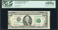 Error Notes:Shifted Third Printing, Misaligned Face Printing Fr. 2169-D $100 1981 Federal Reserve Note. PCGS Very Fine 35PPQ.. ...