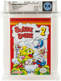 Bubble Bobble Part 2 - Carolina Collection Wata 9.0 A Sealed NES Taito 1993 USA