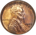 Lincoln Cents, 1909-S 1C VDB MS65 Red and Brown NGC. CAC....