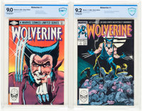 Wolverine CBCS-Graded Group of 2 (Marvel, 1982-88).... (Total: 2 Items)