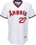 Baseball Collectibles:Uniforms, 2014 Mike Trout Game Worn & Unwashed Los Angeles Angels Uniform, MLB Authentic & Photo Matched. ...