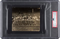 Baseball Collectibles:Photos, 1915 Boston Red Sox Pitching Staff with Rookie Babe Ruth Original News Photograph, PSA/DNA Type 1....