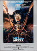 """Movie Posters:Animation, Heavy Metal (Columbia, 1981). Folded, Very Fine. Poster (18"""" X 25.5""""). Chris Achilleos Artwork. Animation.. ..."""