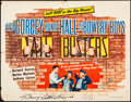 """Movie Posters:Comedy, Jail Busters (Allied Artists, 1955). Folded, Fine+. Autographed Half Sheet (22"""" X 28""""). Comedy.. ..."""