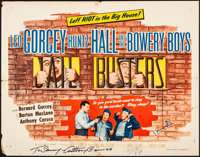 """Jail Busters (Allied Artists, 1955). Folded, Fine+. Autographed Half Sheet (22"""" X 28""""). Comedy"""