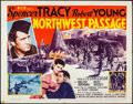 """Movie Posters:Action, Northwest Passage (MGM, R-1956). Folded, Fine/Very Fine. Half Sheet (22"""" X 28""""). Action.. ..."""