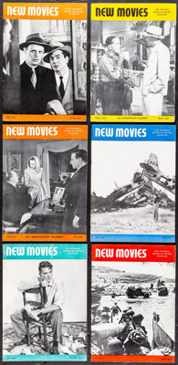New Movies Magazine Lot (National Board of Review of Motion Pictures Inc., 1944-1948). Very Fine. Magazines (26) (Multip...