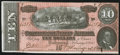 Confederate Notes:1864 Issues, T68 $10 1864 PF-31 Cr. 549 Crisp Uncirculated.. ...