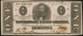 Confederate Notes:1863 Issues, T62 $1 1863 PF-4 Cr. 476 Very Fine. . ...